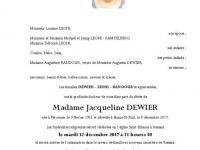 Dewier Jacqueline