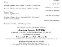 DEWIER Laurent