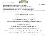 DONFUT Victoria