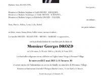 Drozd Georges