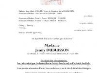 DUBUISSON Jenny