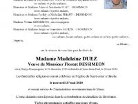 Duez Madeleine