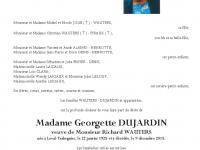 DUJARDIN Georgette