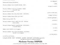 Dupuis Naomy