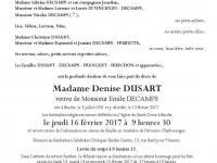 DUSART Denise