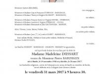 Dussart Madeleine