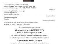 Dutilleux Marie