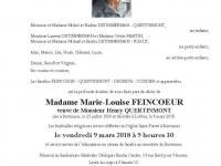 Feincoeur Marie Louise