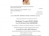 Fencoeur Yvonne