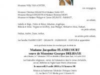 FLAMECOURT Jacqueline