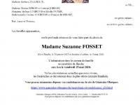 Fosset Suzanne