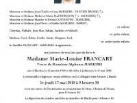 Francart Marie Louise