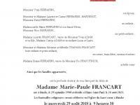 Francart Marie Paule