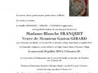 Franquet Blanche