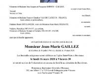 GAILLEZ Jean-Marie