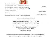 Gallego Michaëla