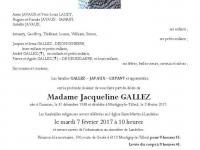 Gallez Jacqueline