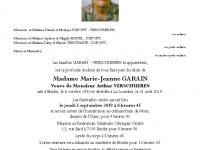 GARAIN Marie-Jeanne