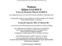 Gaudoux Hélène