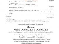 Gonzalez y Gonzalez Maria