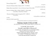 GUILLAUME Josette