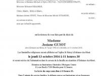 Madame Josiane GUIOT
