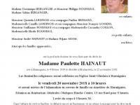 Hainaut Paulette
