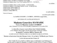 Hamaide Geneviève