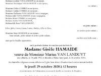 Hamaide Gisèle