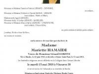 Hamaide Mariette