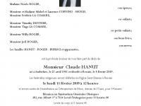 HANUT Claude