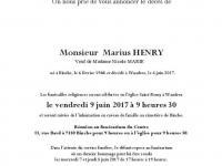 Henry Marius