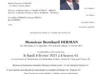HERMAN Bernhard