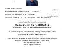 HIRSOUX Jean-Marie