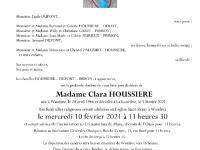 HOUSSIERE Clara
