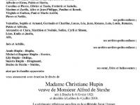 HUPIN Christiane