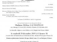 Lachapelle Hélène