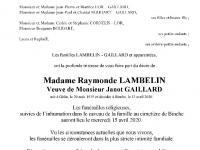 Lambelin Raymonde