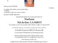 Lambot Micheline