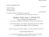 Lasseront Marie Josée