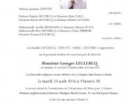 LECLERCQ Georges