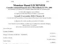 LECRINIER Raoul