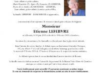 LEFEBVRE Etienne