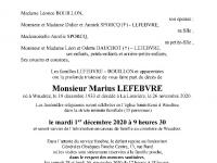 LEFEBVRE Marius