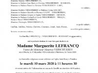 Lefrancq Margueritte