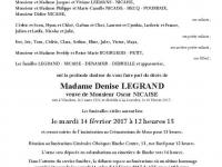 LEGRAND Denise