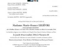 Lelièvre Marie France