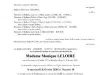 Leloire Monique