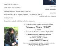 LEROY Simon