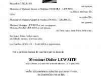 LEWAITE Didier